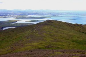 Hiking up on Mount Esja - Iceland hiking and trails