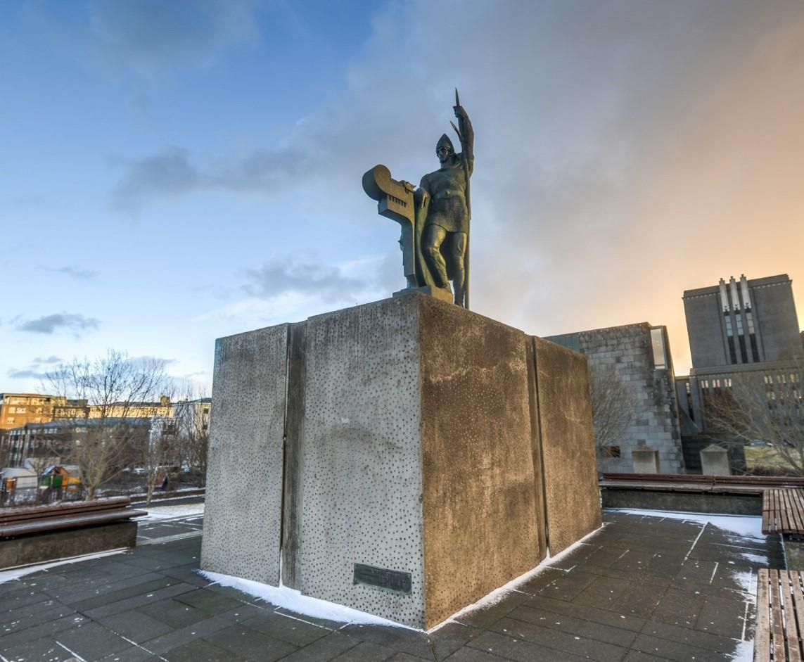 Ingolfur arnarson - Iceland history