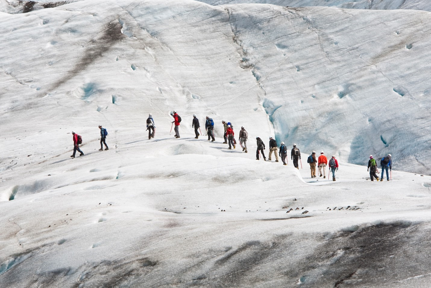 Glaciers on Iceland: Vatnajökull Glacier Hike