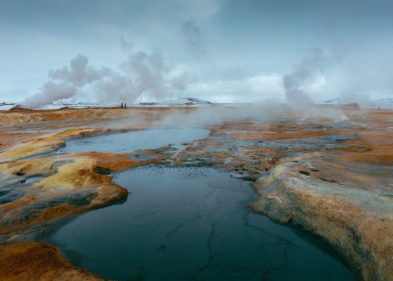 Geothermal hot spring - Golden Circle Reykjavík Tour