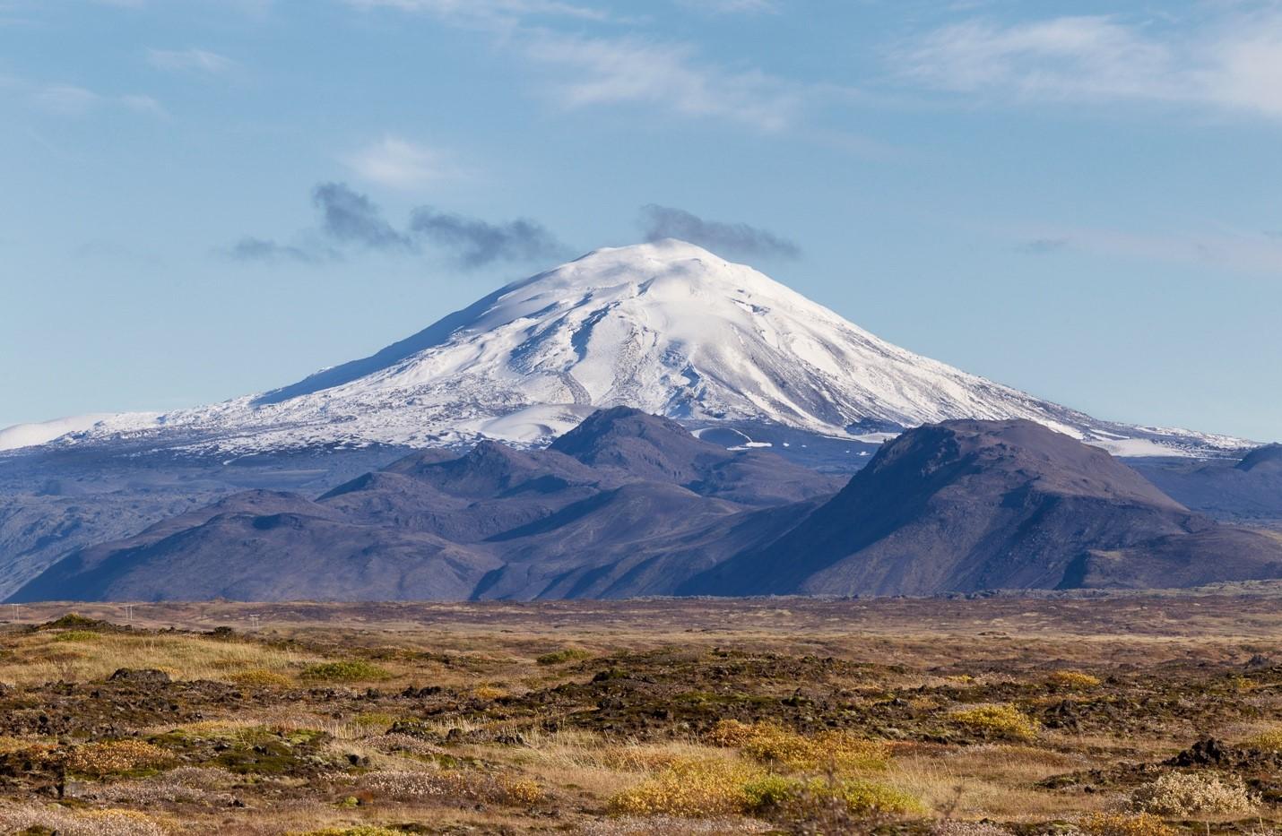 Volcano hekla - mount hekla
