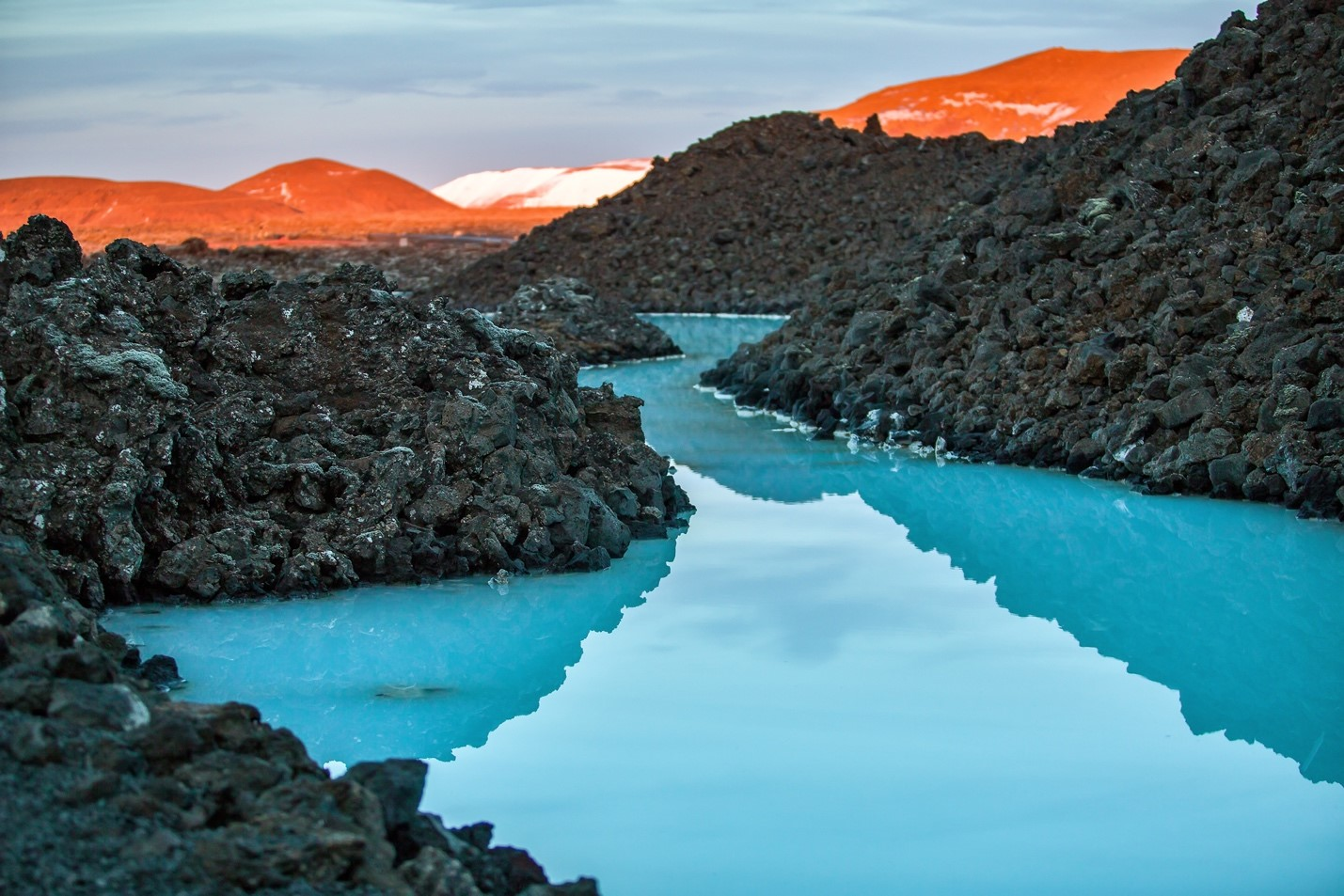 Visit the Blue Lagoon on  your layover in Iceland