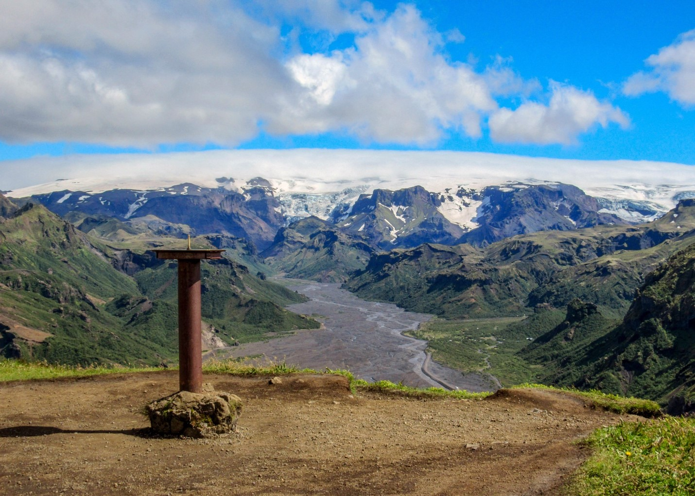 Glaciers on Iceland: Mýrdalsjökull Glacier Iceland