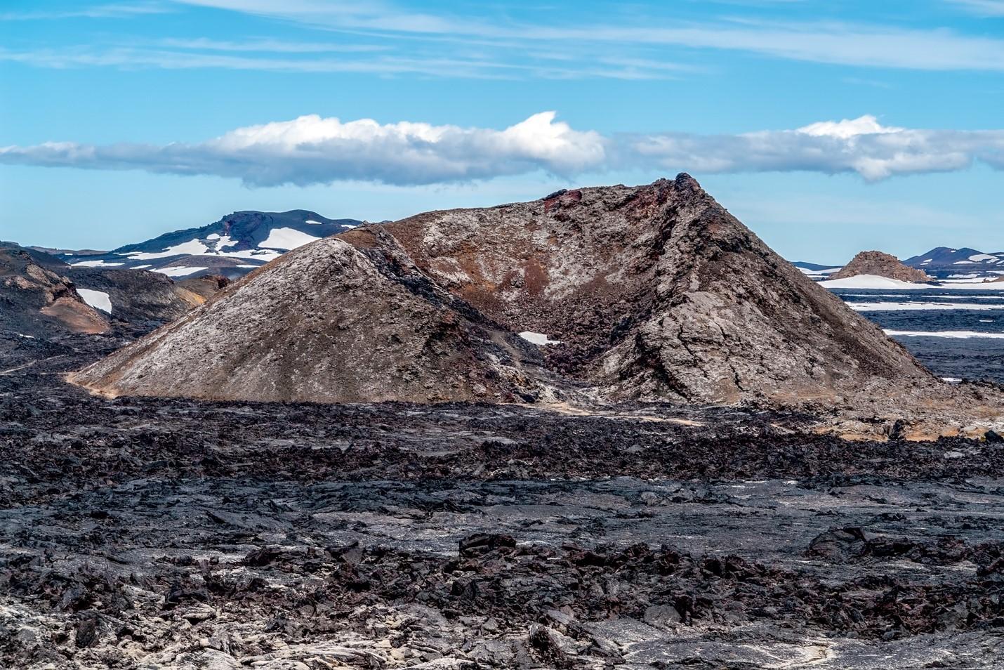 Iceland askja - askja volcano