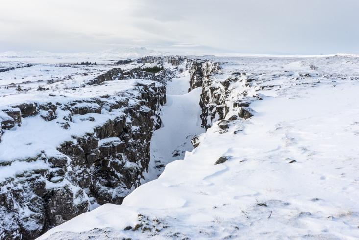 Thingvellir National Park - Golden Circle Winter Iceland