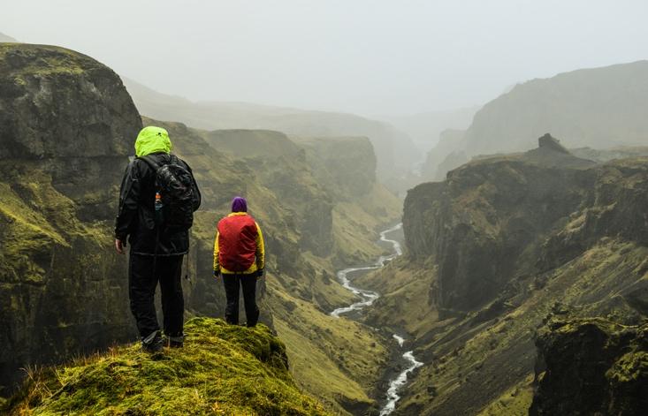 it can rain in Iceland in June