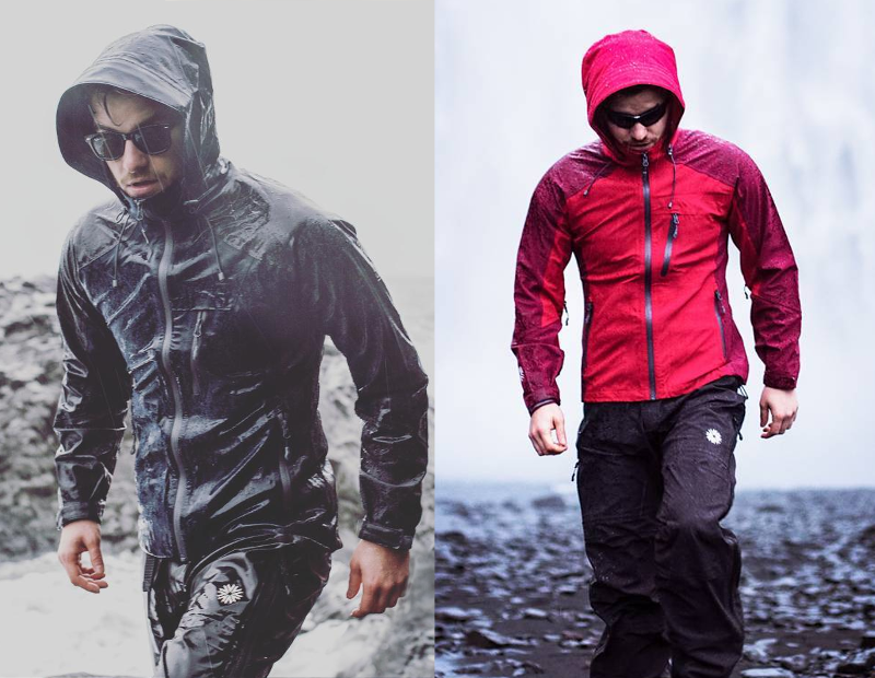Pack rain pants and rain jacket when visiting Iceland