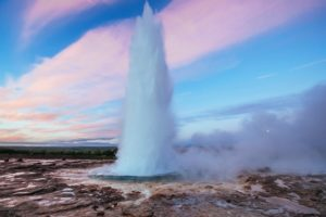 The Geysir - Iceland South Coast