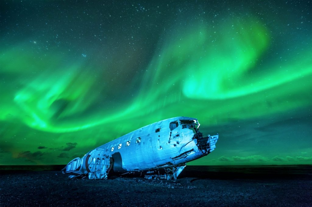 Northern Lights Tour in Iceland - Sólheimasandur Plane Wreck