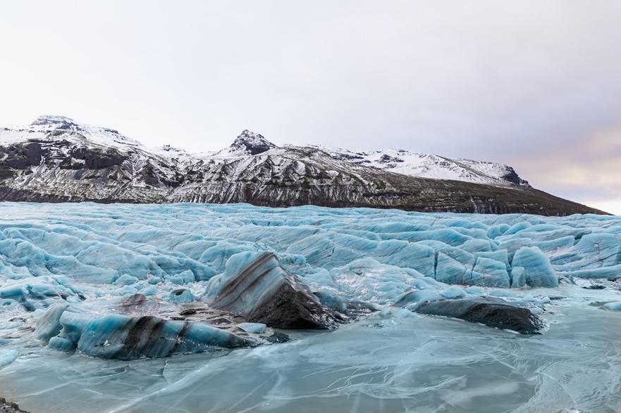 Svínafellsjökull Glacier - Iceland South Coast