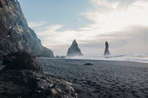 Reynisfjara - Black Sand Beach - Iceland South Coast