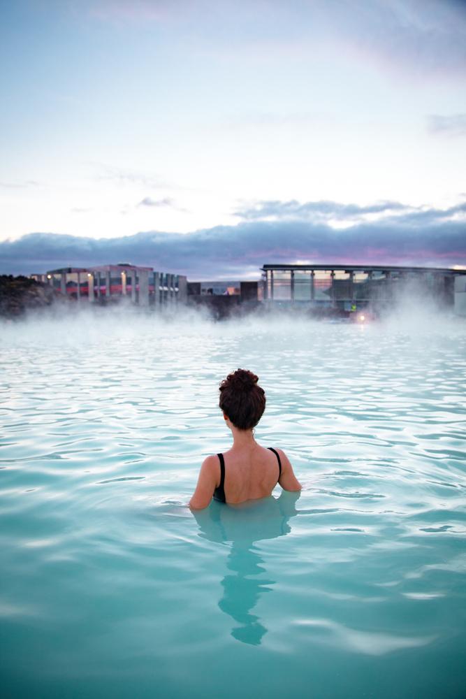 Blue Lagoon bathing