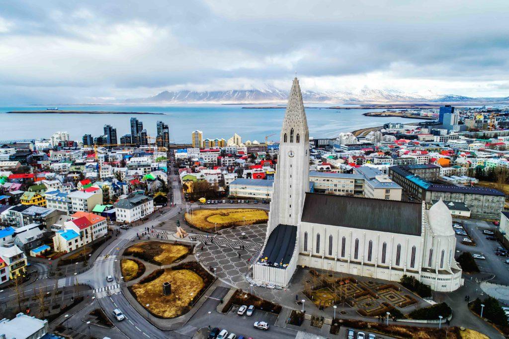 Reykjavik city in Iceland