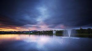 Summer solstice in Reykjavik